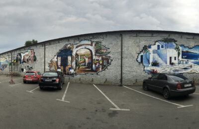 Muralmarket Роспись стен транспортной компании Sat 4