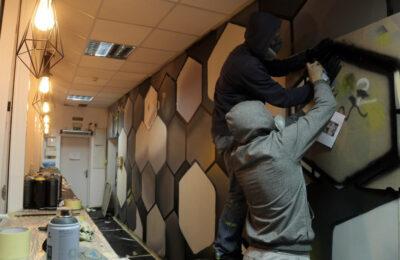 Muralmarket Роспись на стене в офисе 2
