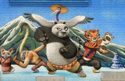 Muralmarket Роспись фасада трансформаторной подстанции 1 ЖК Парковые Озера