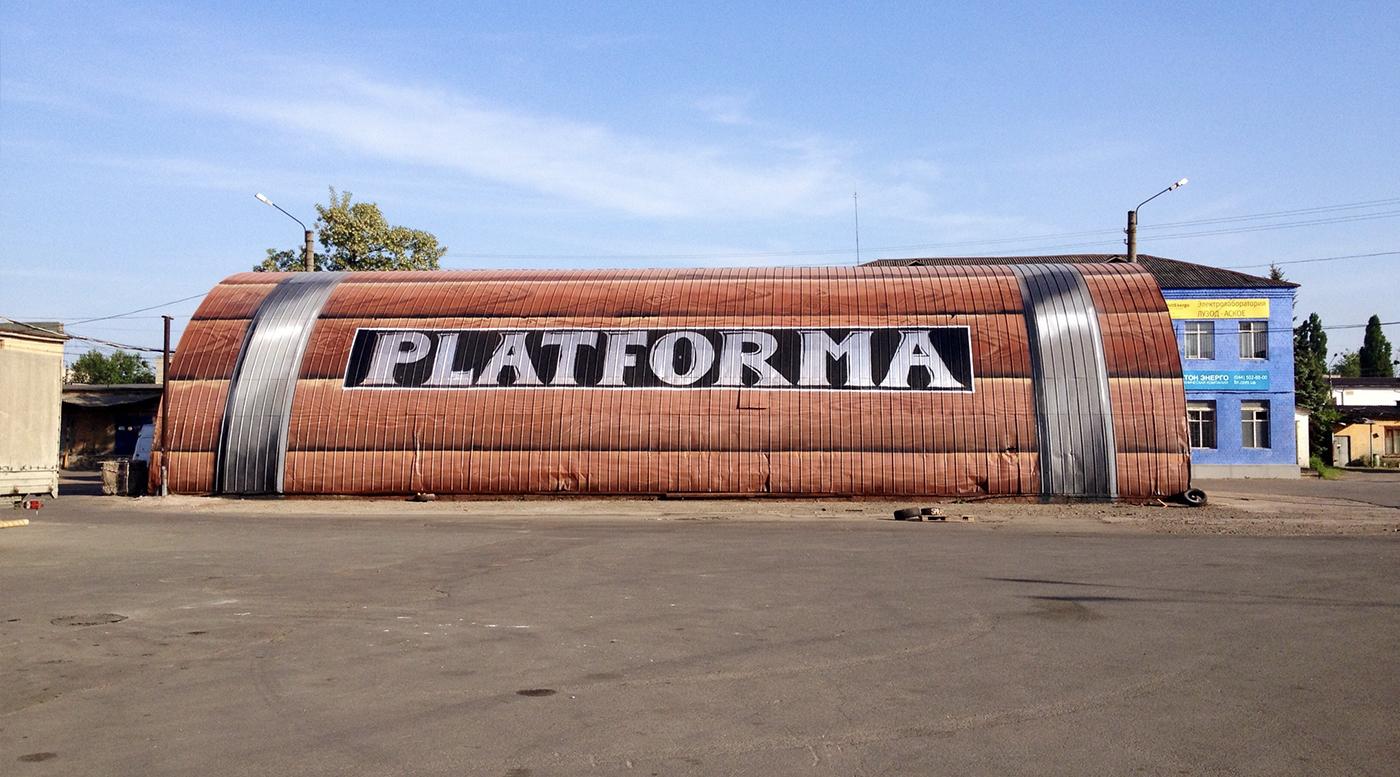 Muralmarket Создание арт объекта в ЦТ Дарынок, Арт завод Платформа 3