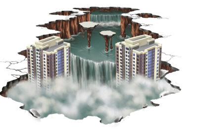 Muralmarket Создание 3D рисунка в ЖК Новопечерские липки 6