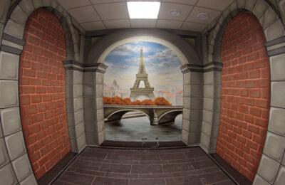 Muralmarket Создание 3D рисунка или оптической иллюзии Terrasoft 3