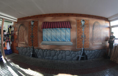 Muralmarket Роспись интерьера торгового центра Дарынок 1