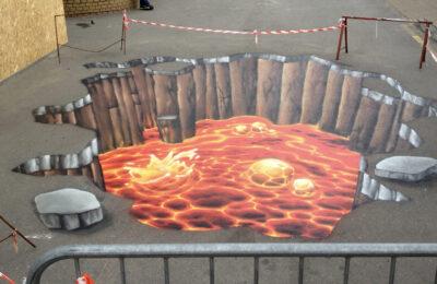 Muralmarket 3Д рисунок в ТЦ Дарынок 1