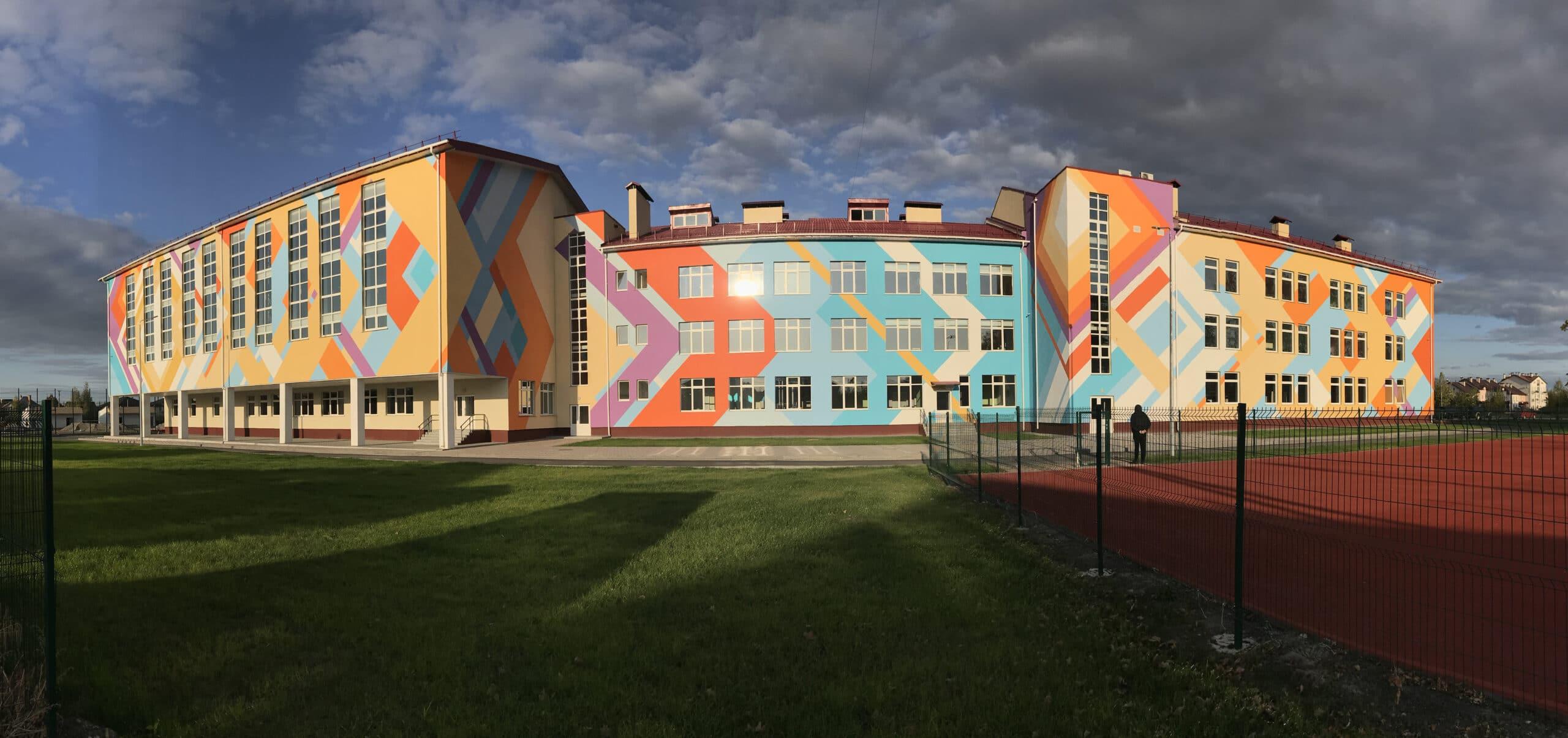 Muralmarket | Роспись фасадов Лицей №1. 4