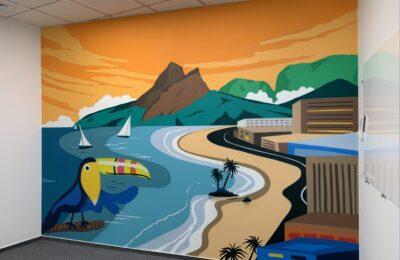 Muralmarket | Роспись стен в офисе