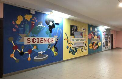 Muralmarket | Роспись стен в школе 5