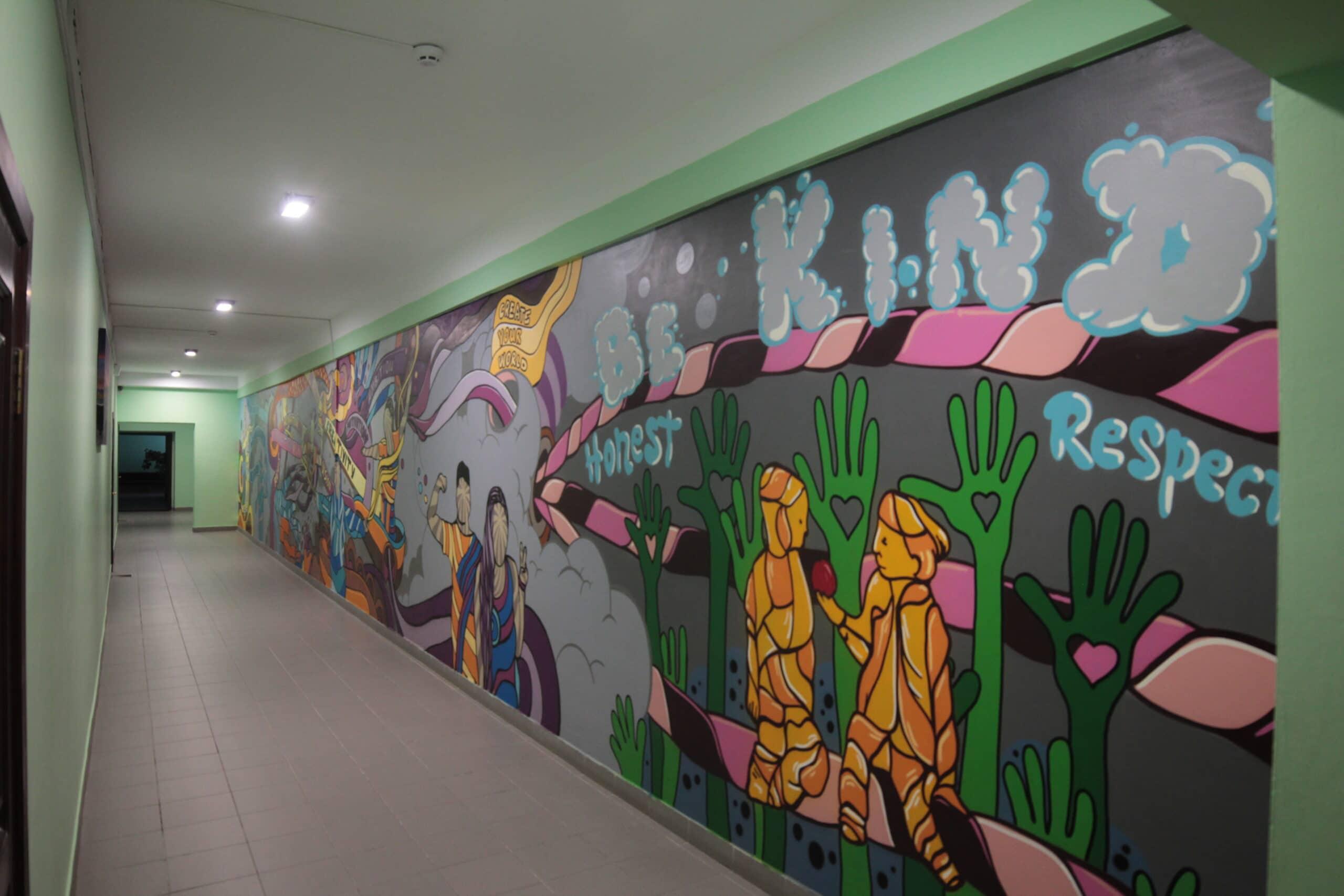 Muralmarket | Роспись стен в школе